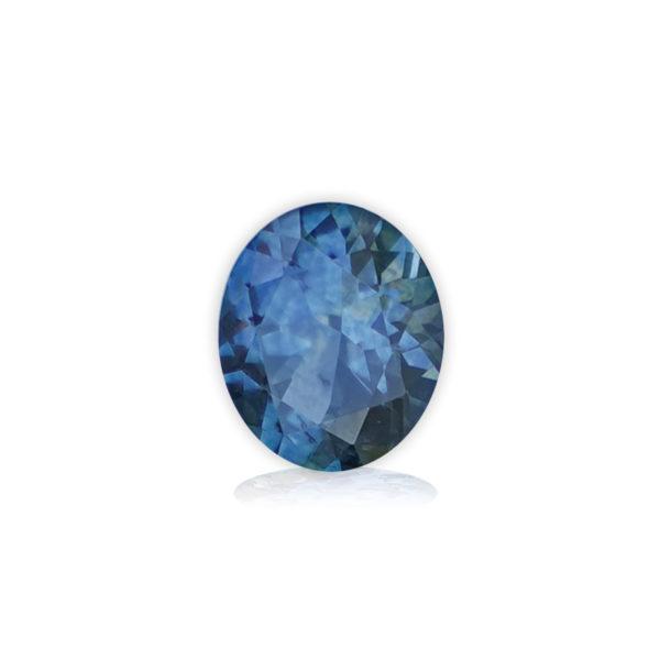 Dark Blue Sapphire - Oval 1.19Ct 1831