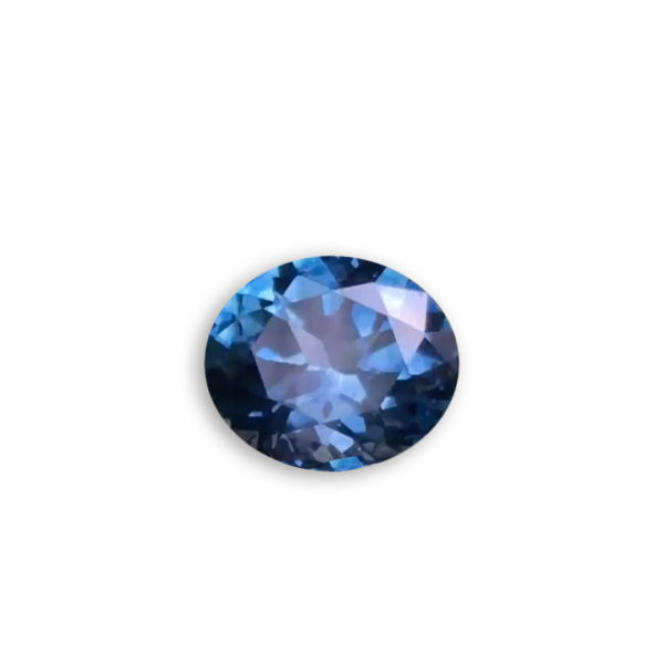 Dark Blue Sapphire - Oval 1.19Ct