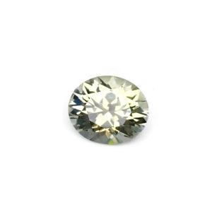 White Yellow Sapphire - Round 1.31Ct #28109