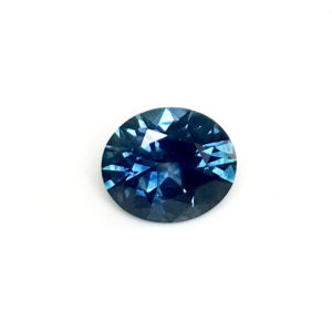 Dark blue oval 1.34ct 2883