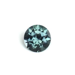 Blue-Green Montana Sapphire-Round .57 carats 2889