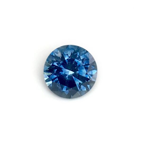 Blue Sapphire - Round 1.44Ct