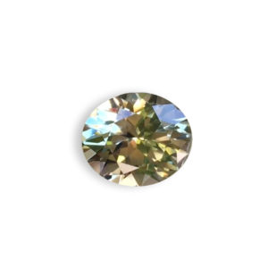 Green Sapphire - Oval 1.39Ct