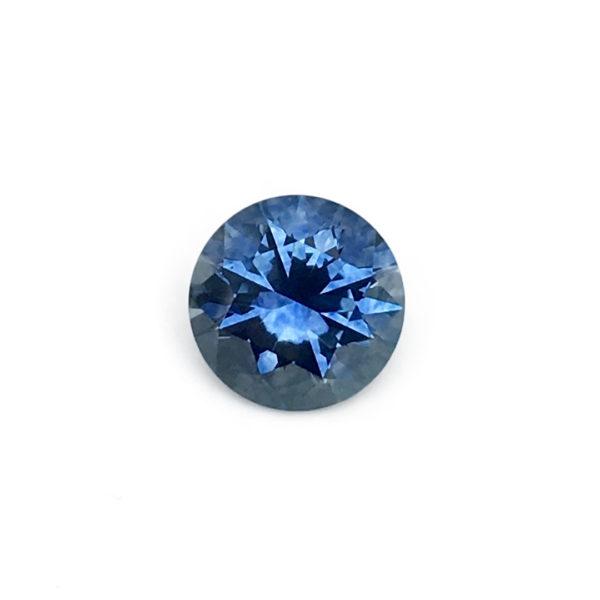 Blue Sapphire - Round .89Ct