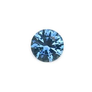 Dark Blue Sapphire - Round .69Ct