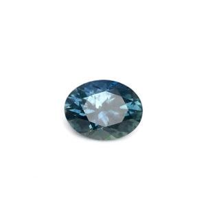 Bluegreen Sapphire - Oval 1.02Ct # 38505