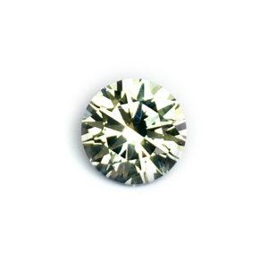 Light Green Sapphire - Round 1.41Ct