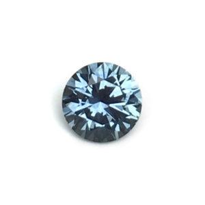 Blue Green Sapphire - Round .81Ct