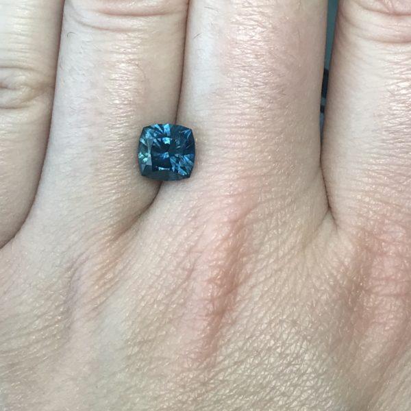 Bluegreen Sapphire - Cushion 2.83cts