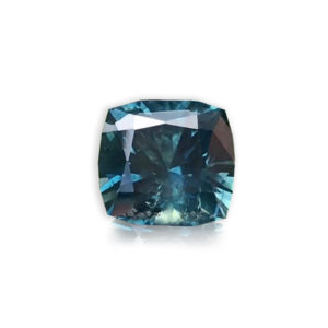 Bluegreen Sapphire - Square Cushion 2.81cts