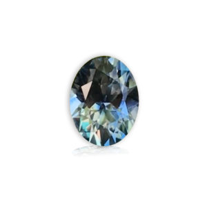 Blue-Green Sapphire-Oval 1.23cts