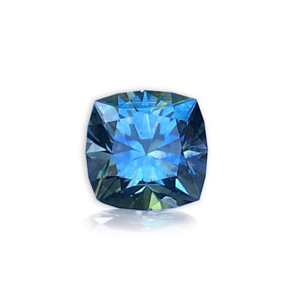 blue sapphire-cushion 1.66ct 48598