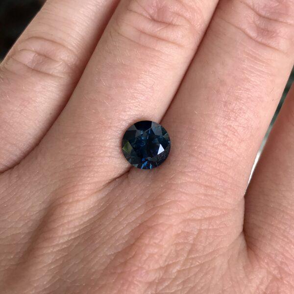 Blue Montana Sapphire -Round 3.22carats