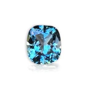Bluegreen sapphire cushion 1.94cts 88125