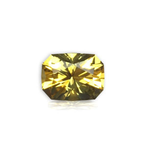 Yellow Sapphire Cushion 1.88cts 98005