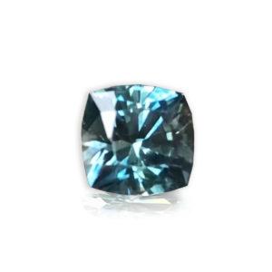 Bluegreen sapphire cushion 1.61 98006