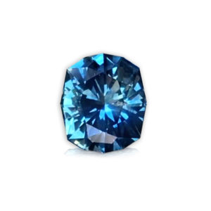 'Secret cove' Bluegreen Sapphire-Cushion 2.70cts