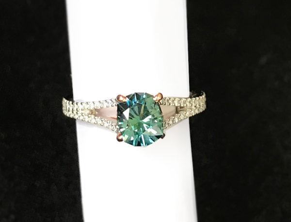 118046 Blue-Green Sapphire-Round