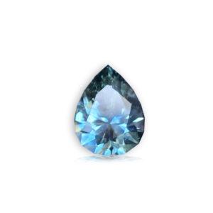 Blue-Green Sapphire-Pear 1.18ct