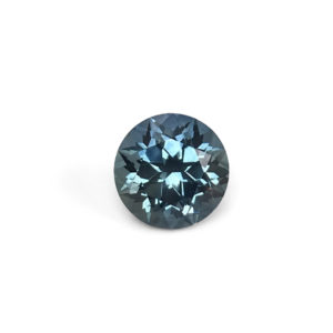 Blue-Green Sapphire-Round 1.96cts #2866