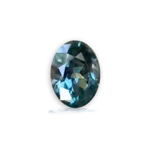 blue green sapphire-oval 1.71carats