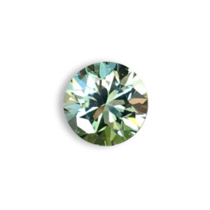 Green Sapphire-Round .92cts #48675