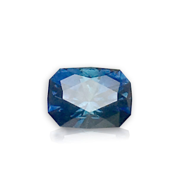 Sapphire- Bluegreen Cushion 1.16cts