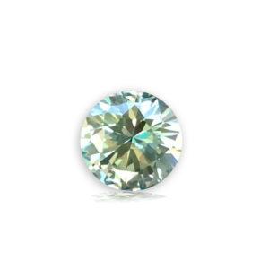 Blue-Green Sapphire-Round.75ct 98061-21