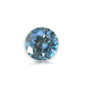 Blue-Green Sapphire-Round .81cts.
