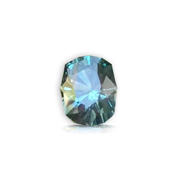Blue-Green Sapphire-Cushion 1.71cts
