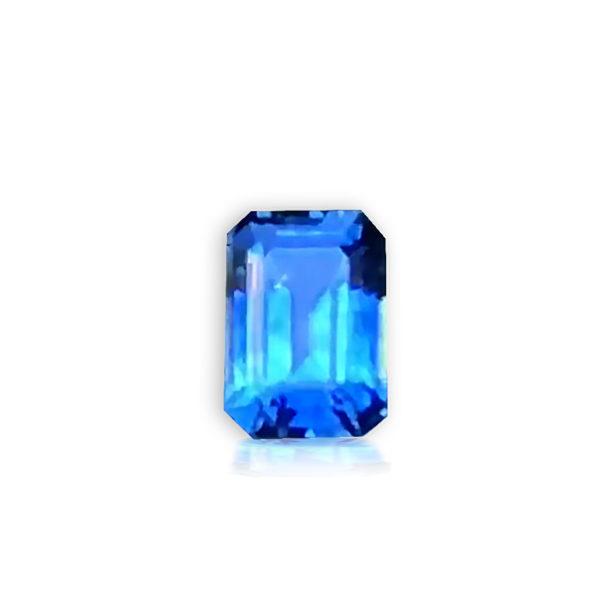 Blue Sapphire - Emerald Cut 1.32 cts