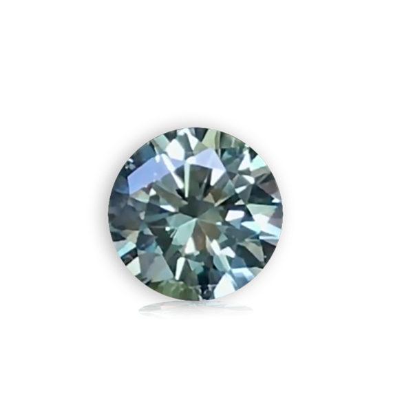 Blue-Green Sapphire-Round 1.0
