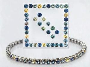All American Sapphire Bracelet