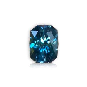 Blue Sapphire-Cushion 1.24cts