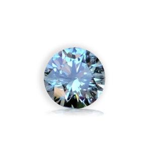 Light Blue Sapphire- Round 1.0cts