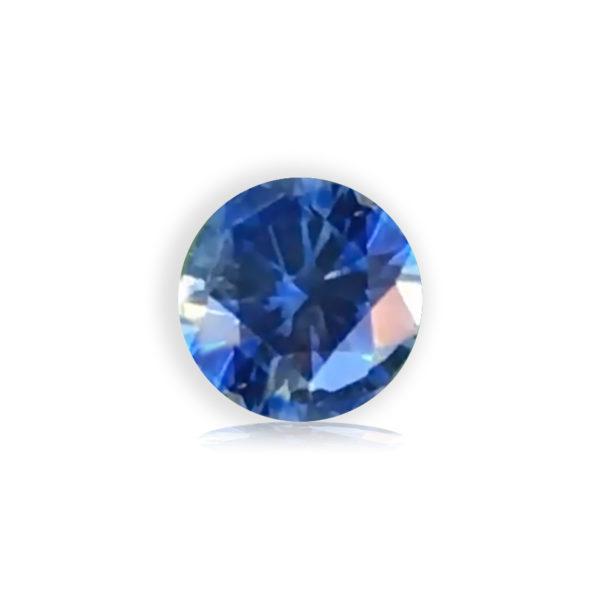 Blue Sapphire- Round .88cts