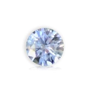 White Bluegreen Sapphire- Round .93cts