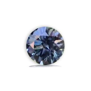 Blue Sapphire-Round .88cts