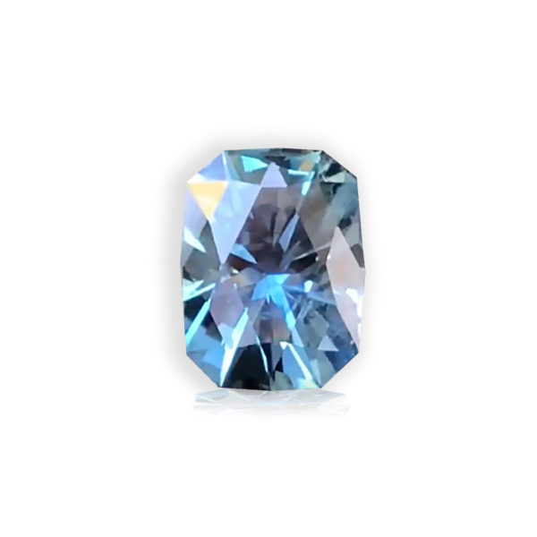 Bluegreen Sapphire- Cushion 3.16cts