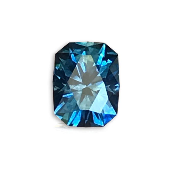 Blue Sapphire- Cushion 2.94cts 128036
