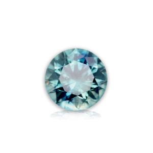 Blue Montana Sapphire- Round 1.0 ct