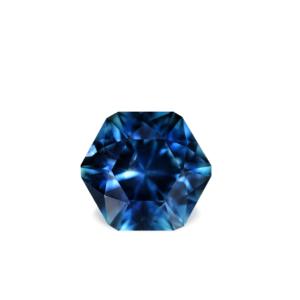 Blue Montana Sapphire- Hexagon 3.42cts 128026