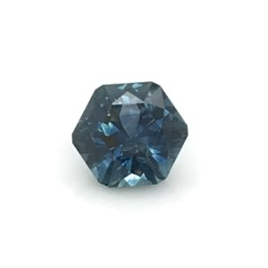 Blue Sapphire- Hexagon 3.42cts