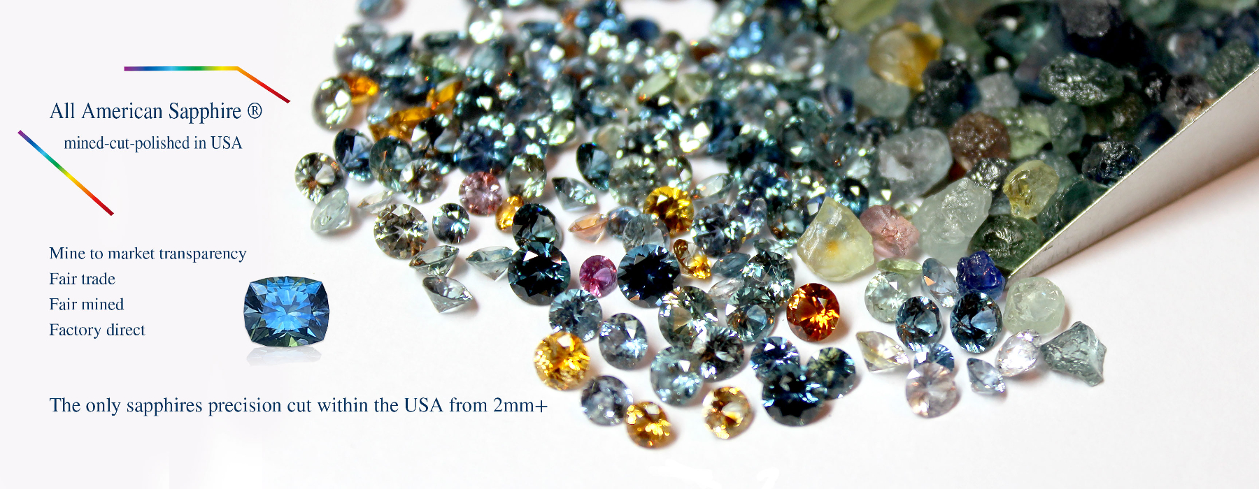 Americut Gems, home of the All American Sapphire®