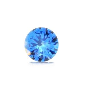 Blue Montana Sapphire- Round 1.21cts