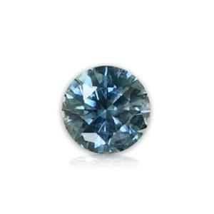 Blue Montana Sapphire-Round 1.25cts