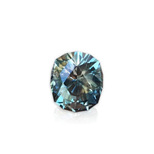 Color Change Teal- Muti-Color Montana Sapphire-Cushion 1.70cts
