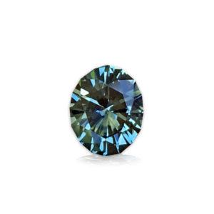 Blue-Green Montana Sapphire-Oval 1.54cts 128104