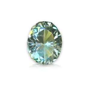 Light Blue-green Montana Sapphire Oval- 1.04 carats