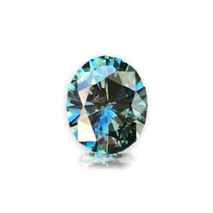 Blue-green Montana Sapphire-Oval 1.90 carats 148003
